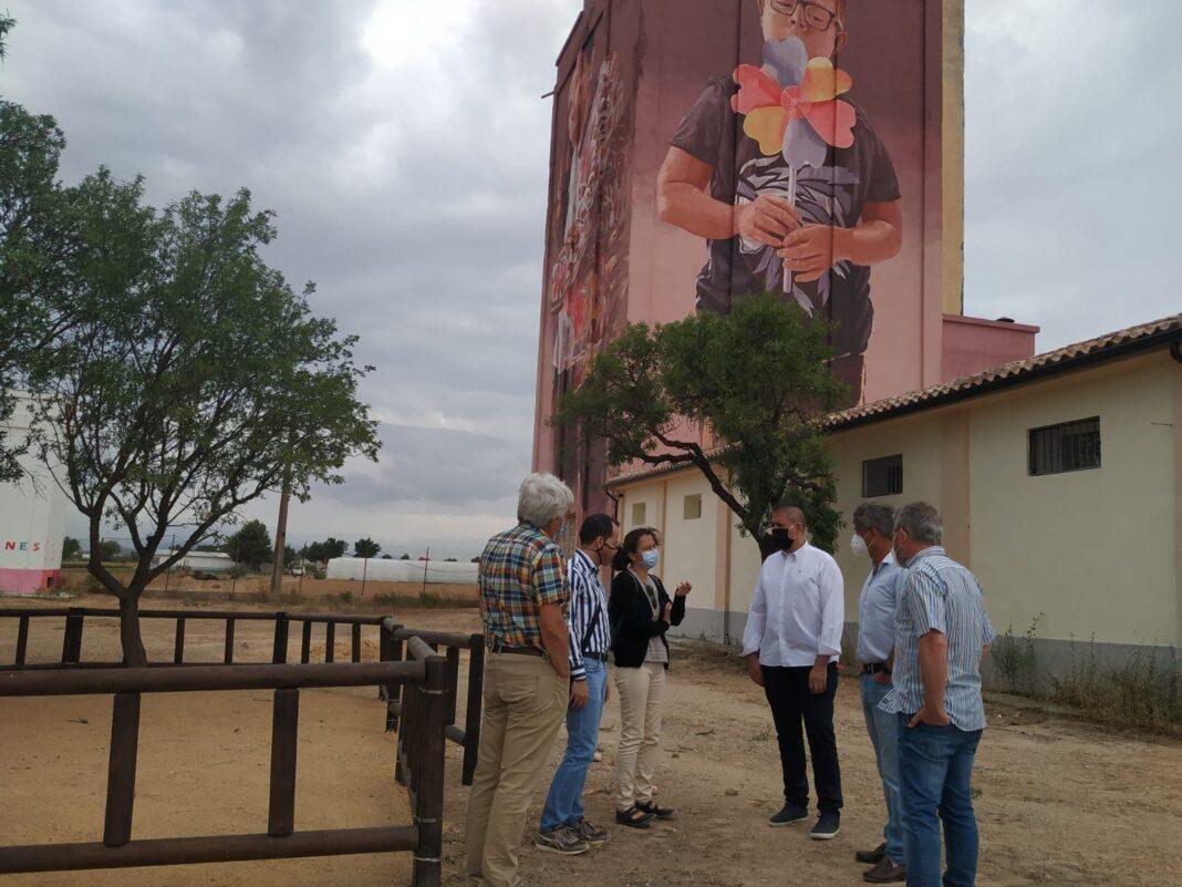 obras en silo herencia quesalia exterior 1068x801 - El Centro de Interpretación del Queso herenciano abrirá en próximo año