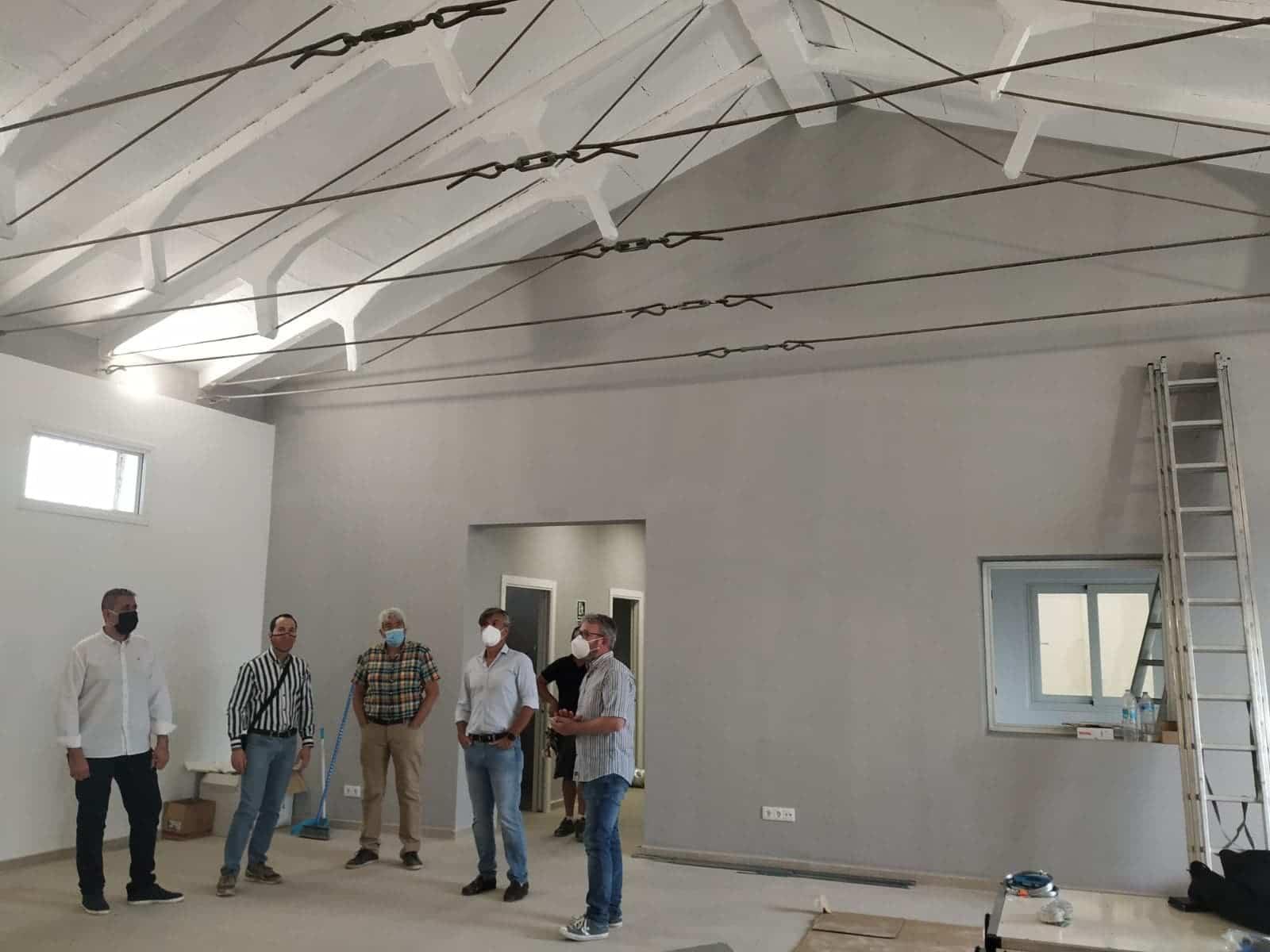 obras en silo herencia quesalia - El Centro de Interpretación del Queso herenciano abrirá en próximo año