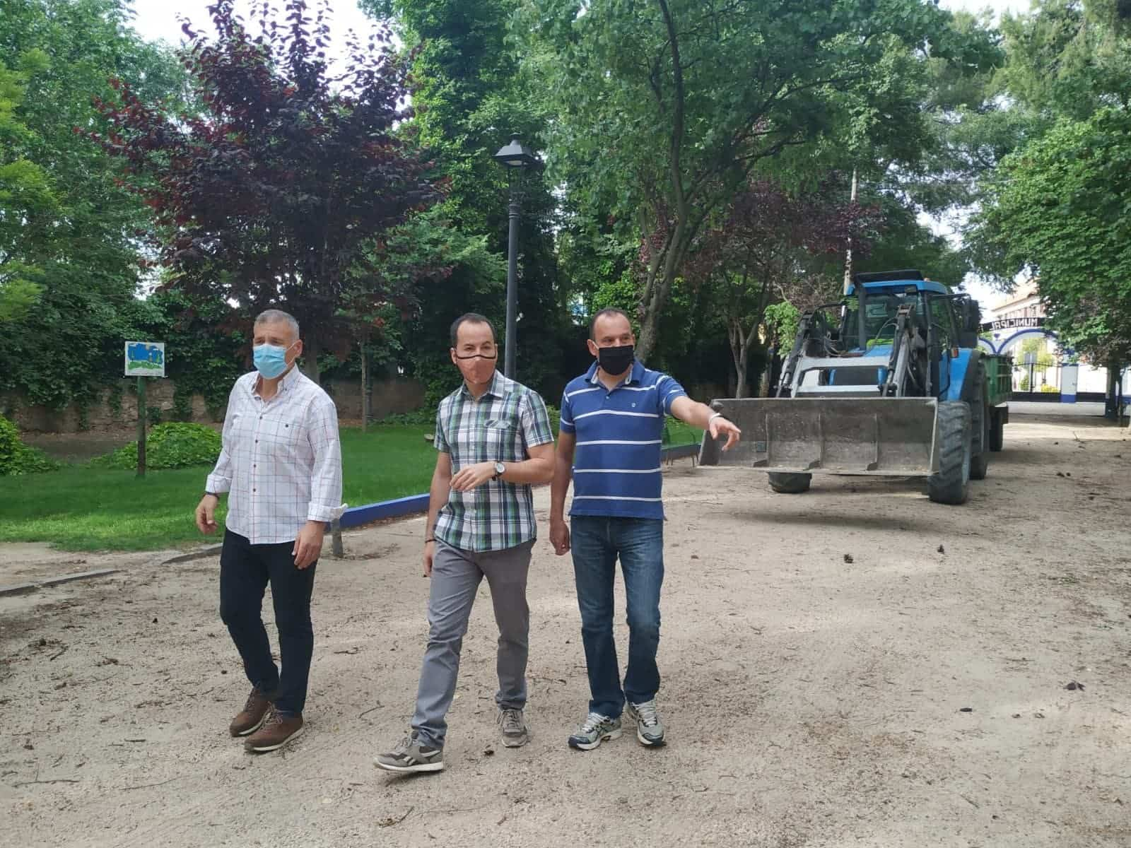 remodelacion parque municipal herencia 1 - El Parque Municipal de Herencia finaliza sus obras de remodelación