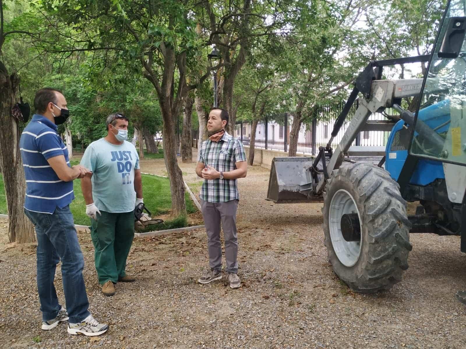 remodelacion parque municipal herencia 4 - El Parque Municipal de Herencia finaliza sus obras de remodelación