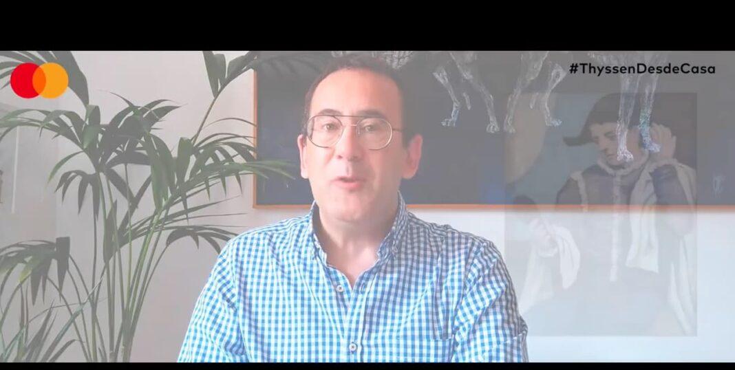 restaurador herenciano enrique rodriguez tembleque Thyssen 1068x538 - El herenciano Enrique Rodríguez de Tembleque participa en las visitas virtuales del Thyssen