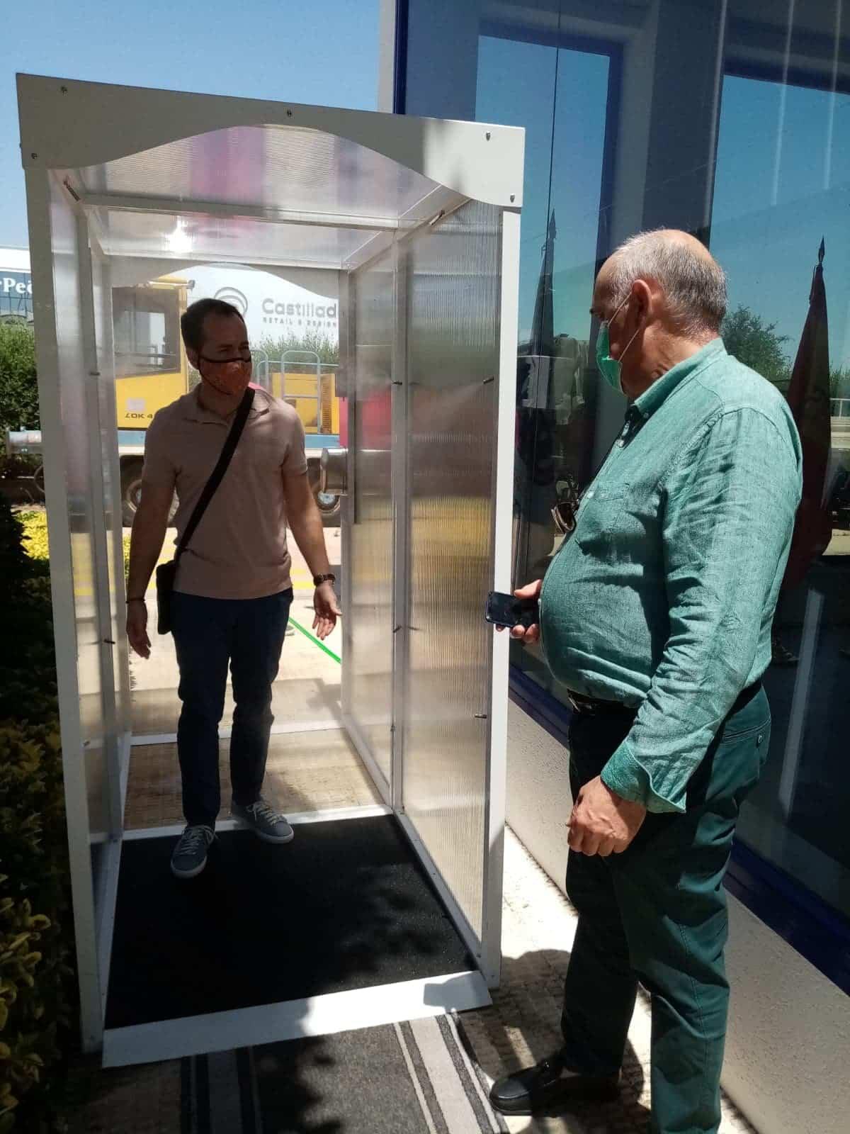 tsd herencia visita alcalde 3 - Visita de Alcalde a las instalaciones de TSD Technology & Security Developments