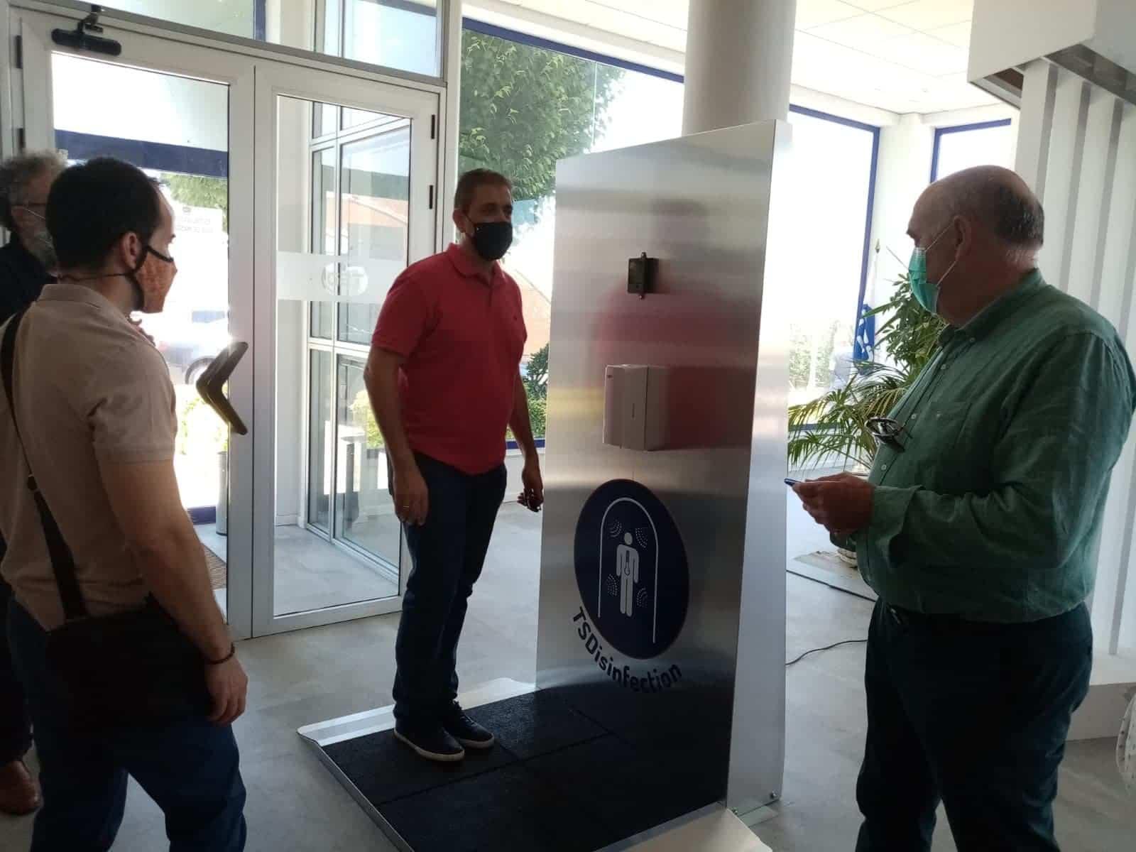 tsd herencia visita alcalde 4 - Visita de Alcalde a las instalaciones de TSD Technology & Security Developments
