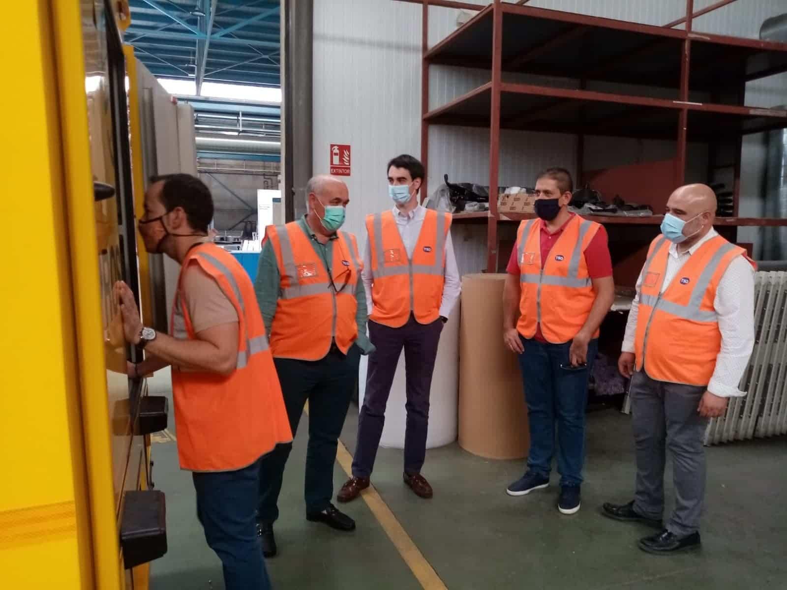 Visita de Alcalde a las instalaciones de TSD Technology & Security Developments 9