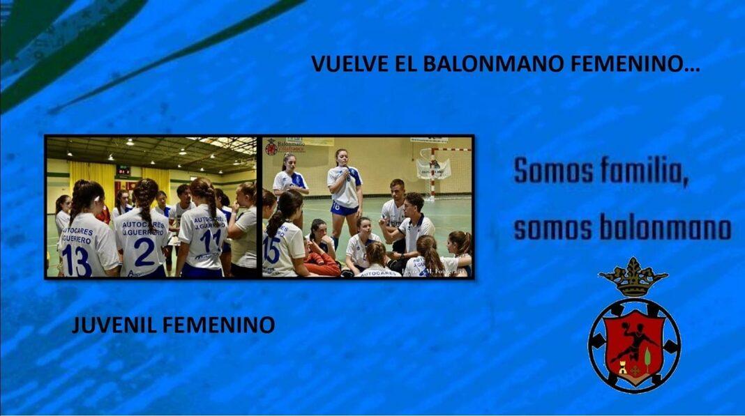 vuelve balonmano femenino villafranca 1068x597 - El herenciano Gonzalo Tajuelo entrenado del Cde Balonmano Villafranca