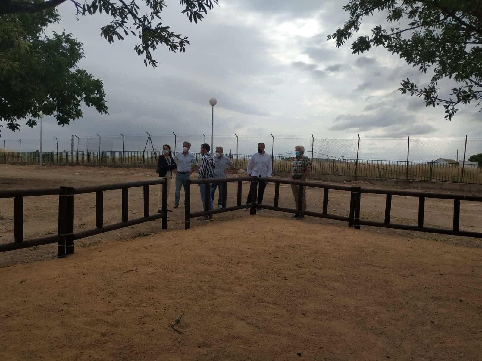zona acceso Quhesalia silo - El Centro de Interpretación del Queso herenciano abrirá en próximo año