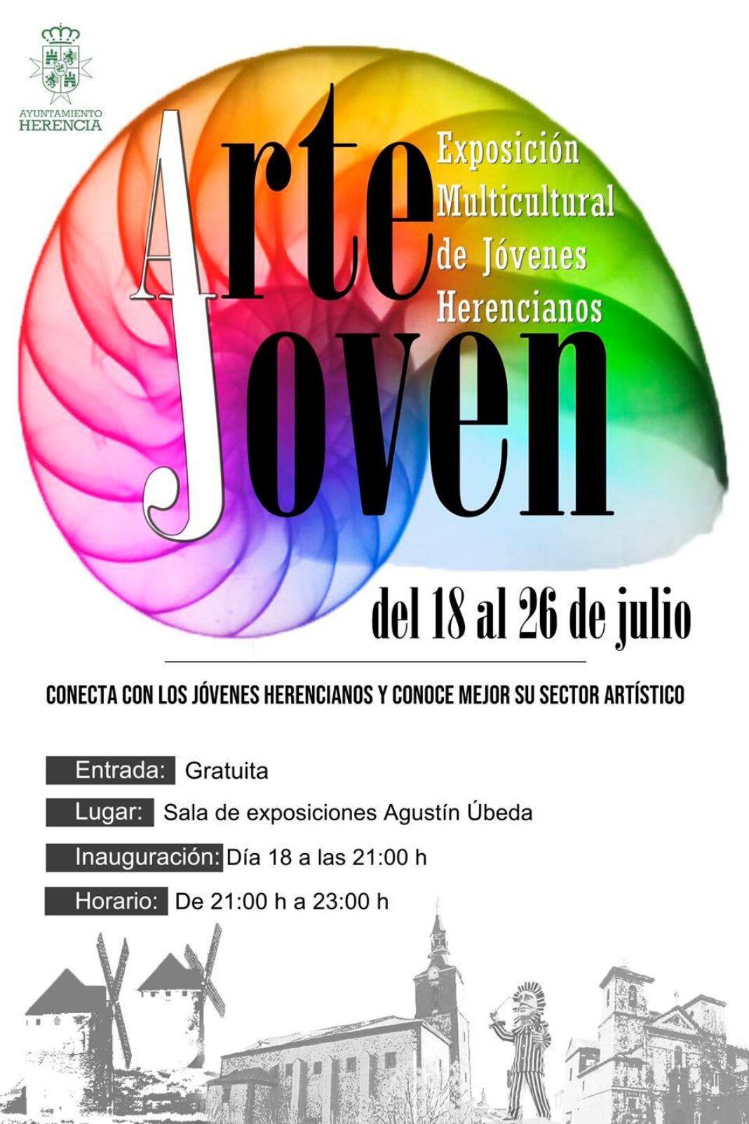 Arte Joven, exposición multicultural de jóvenes Herencianos 8