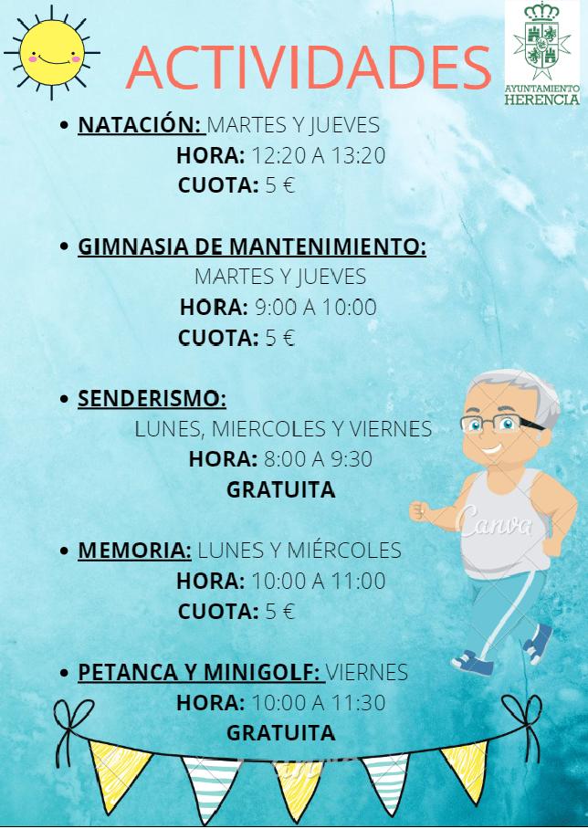 CARTEL BUENO - Reanudación de las actividades al aire libre para los mayores