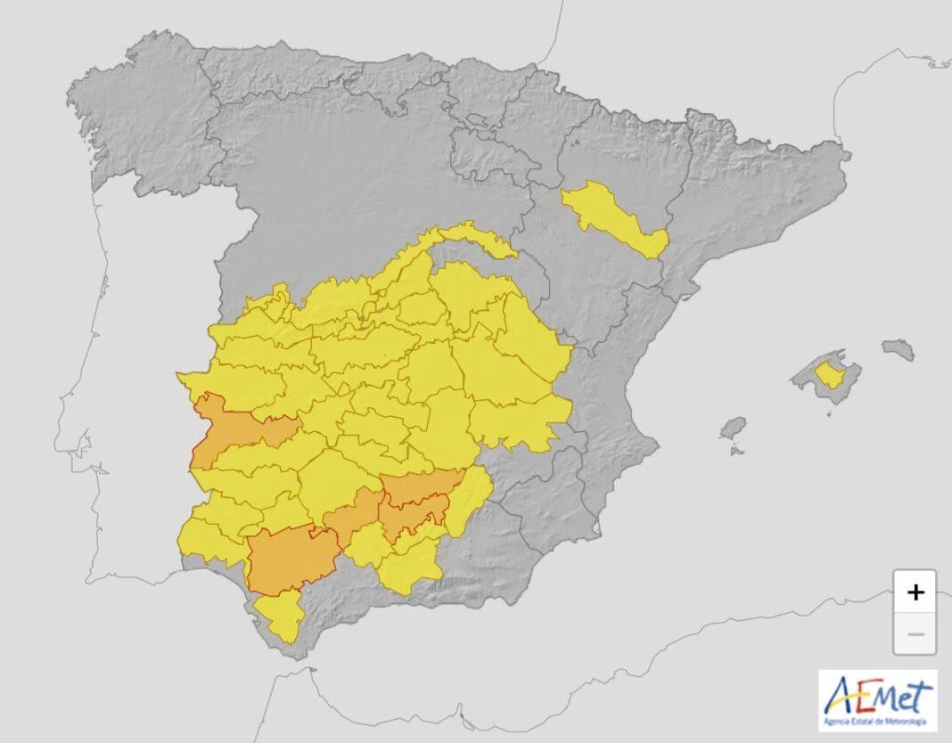 altas temperaturas castilla la mancha 1068x834 - Alerta amarilla por altas temperaturas en Herencia y toda la región