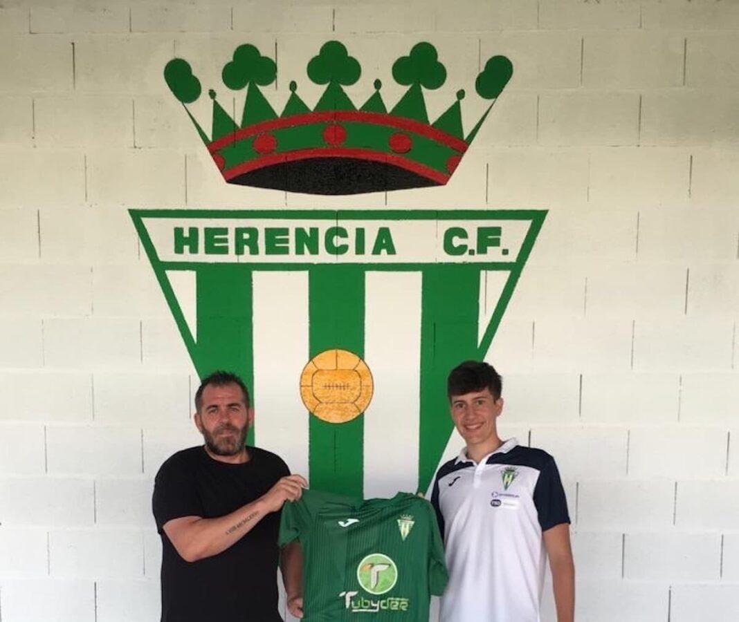 Fernando Romo se incorpora al primer equipo del Herencia C.F. 1