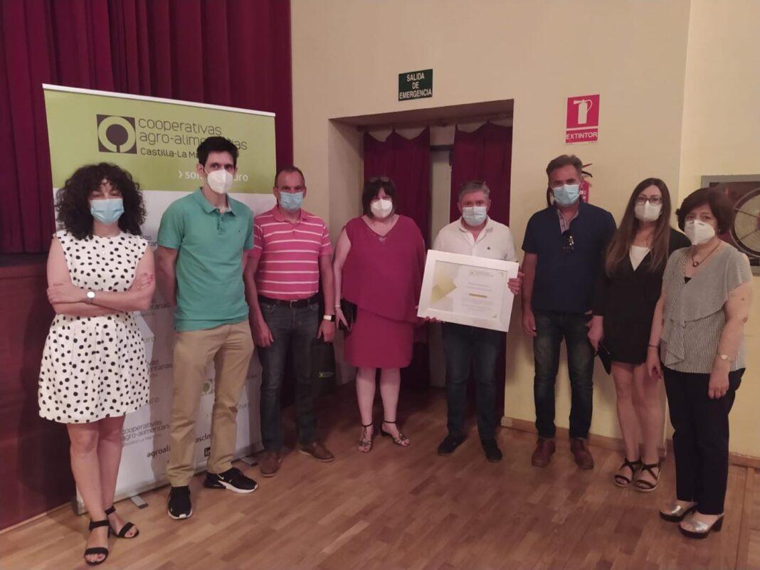 Herencia presente en el homenaje a Antonio Martín Buitrago en la Asamblea de Cooperativas Agro-Alimentarias 1
