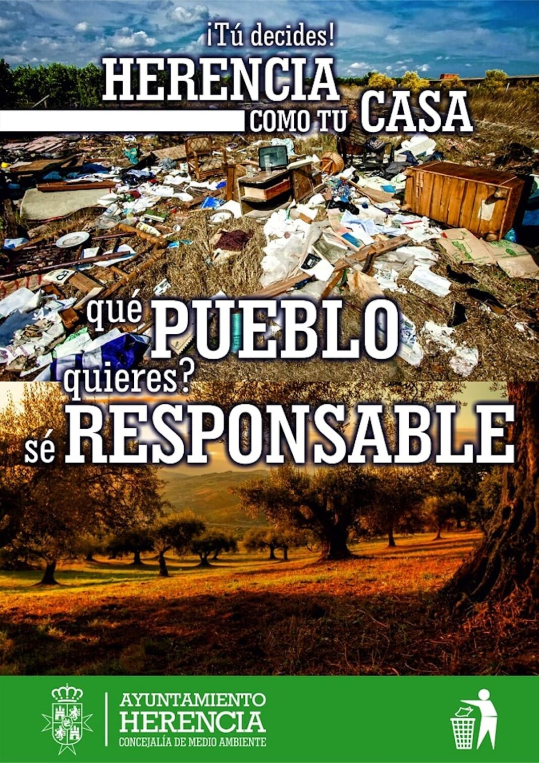 «¡Tu decides! Herencia como tu casa». Una campaña para el uso del Punto Limpio y gestión de residuos local 1