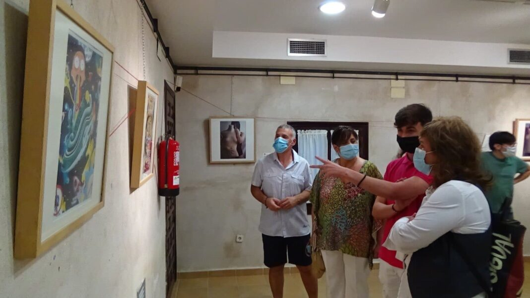 inauguaracion ArteJovenHerencia 1 1068x601 - Inauguración de la Exposición Multicultural de Jóvenes Herencianos #ArteJovenHerencia