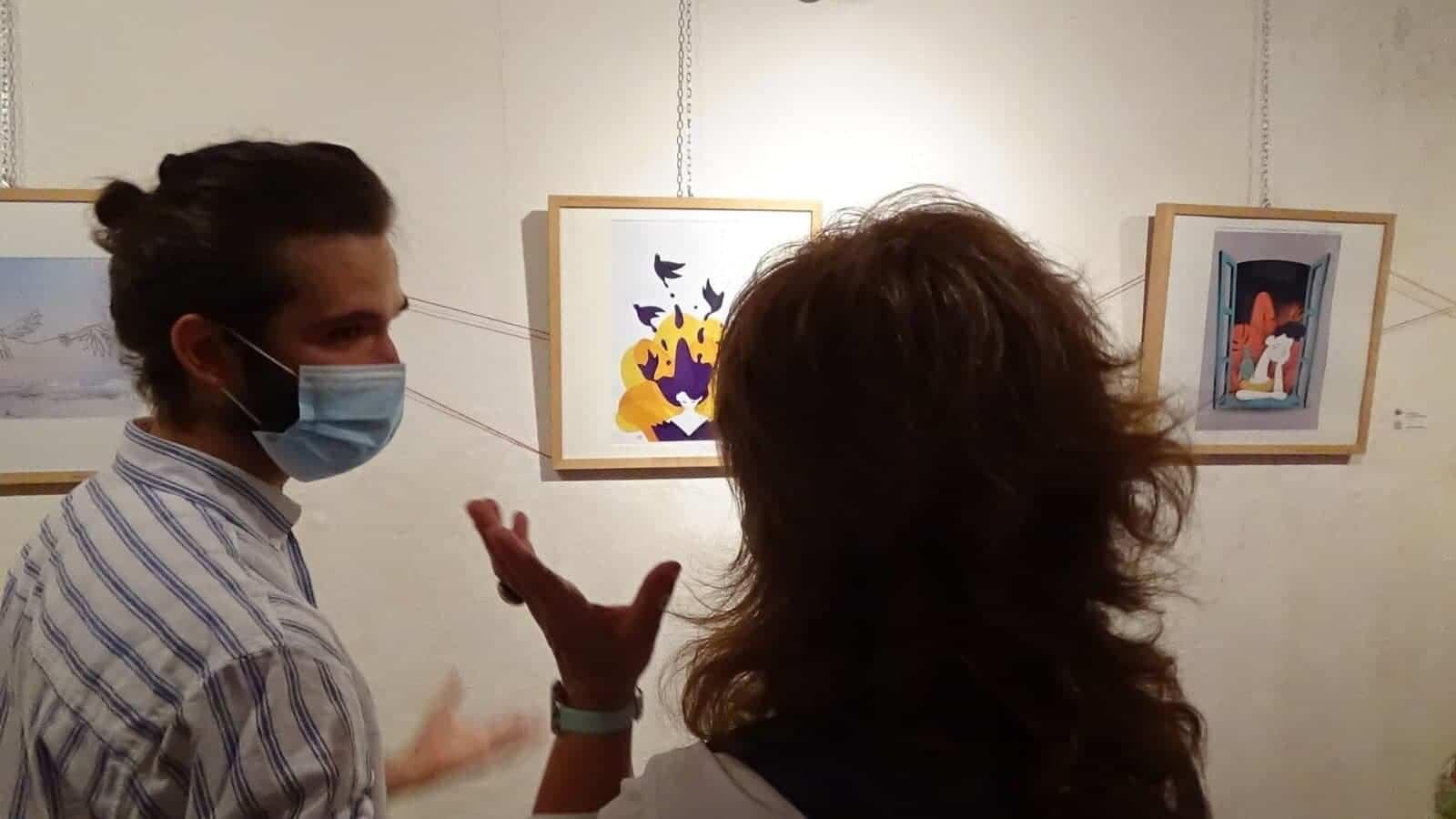 inauguaracion ArteJovenHerencia 4 - Inauguración de la Exposición Multicultural de Jóvenes Herencianos #ArteJovenHerencia