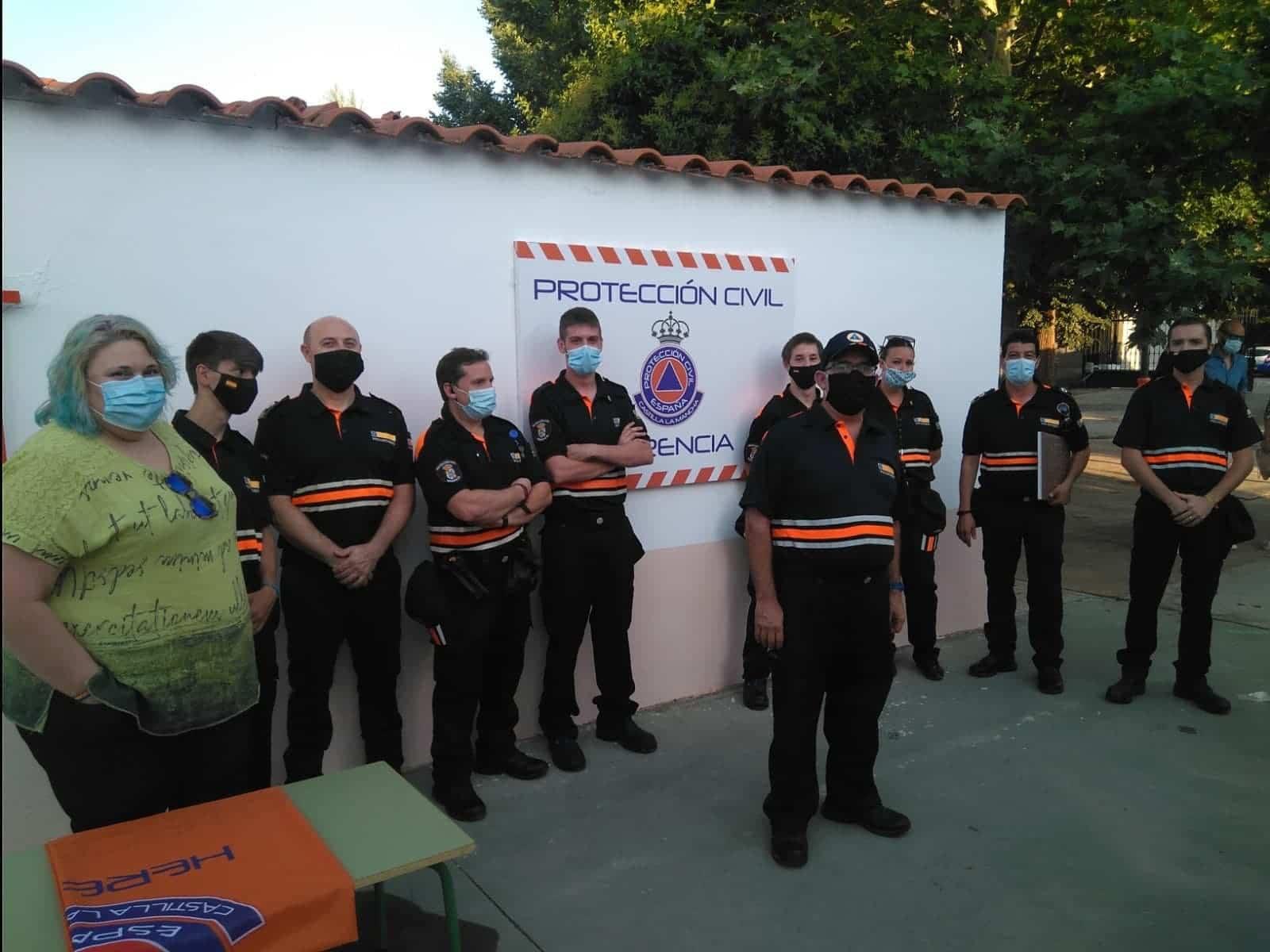 inauguracion nueva sede proteccion civil herencia 1 - La Agrupación de Voluntarios de Protección Civil inauguró su nueva sede local