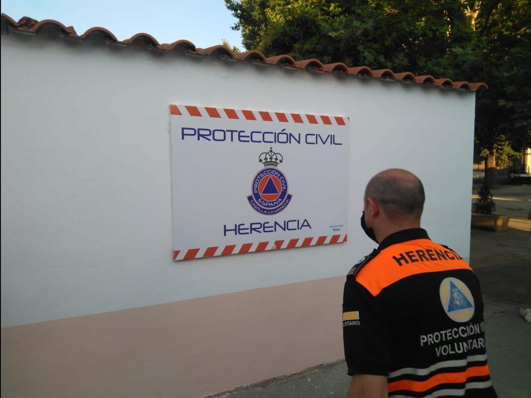 inauguracion nueva sede proteccion civil herencia 2 1068x801 - La Agrupación de Voluntarios de Protección Civil inauguró su nueva sede local