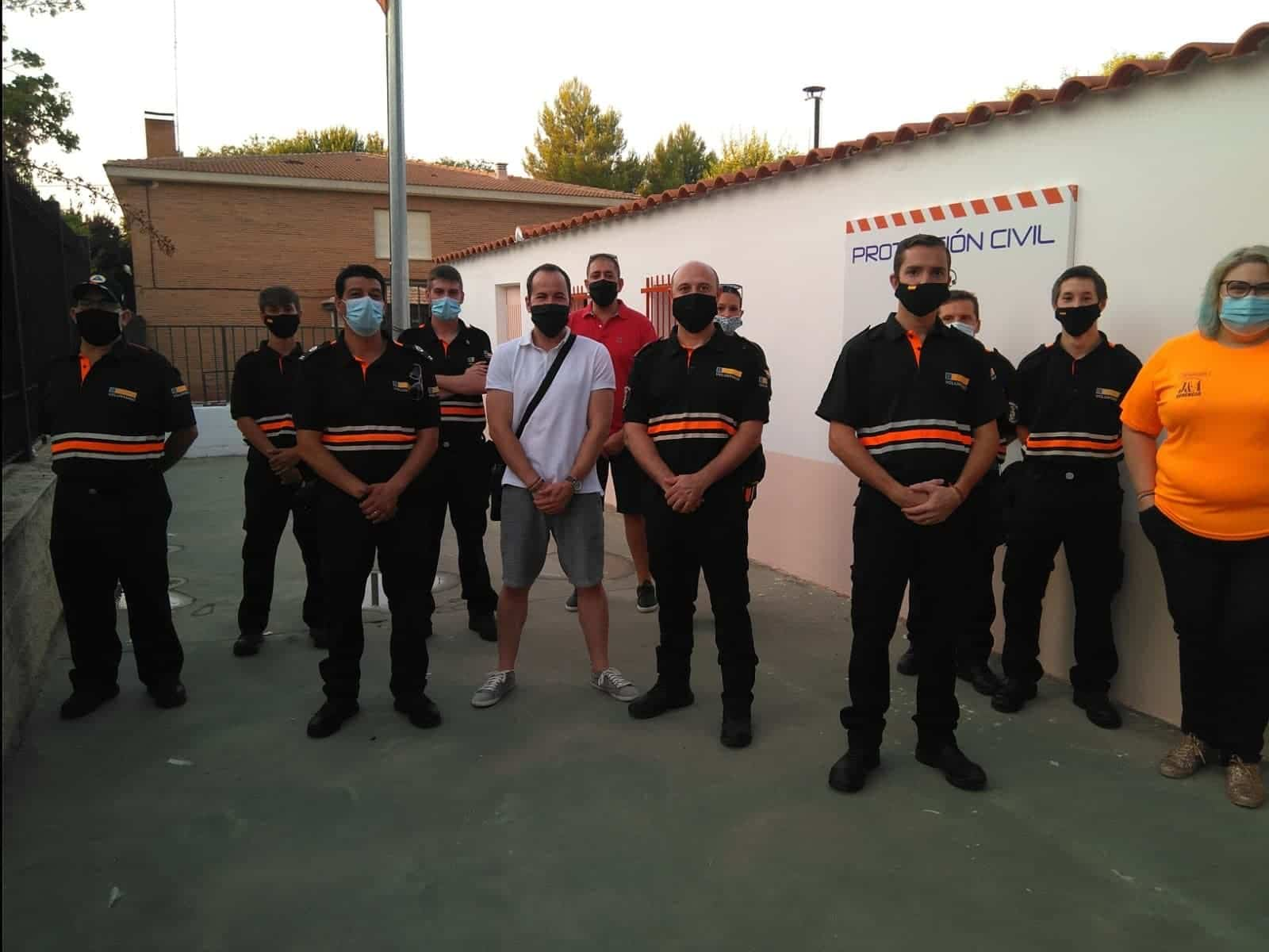 inauguracion nueva sede proteccion civil herencia 4 - La Agrupación de Voluntarios de Protección Civil inauguró su nueva sede local