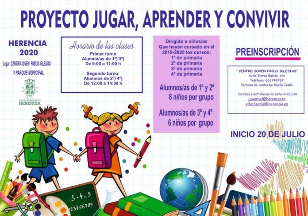 proyecto jugar aprender y convivir 1068x751 - Bienestar Social y Juventud lanzan el proyecto «Jugar, aprender y convivir»