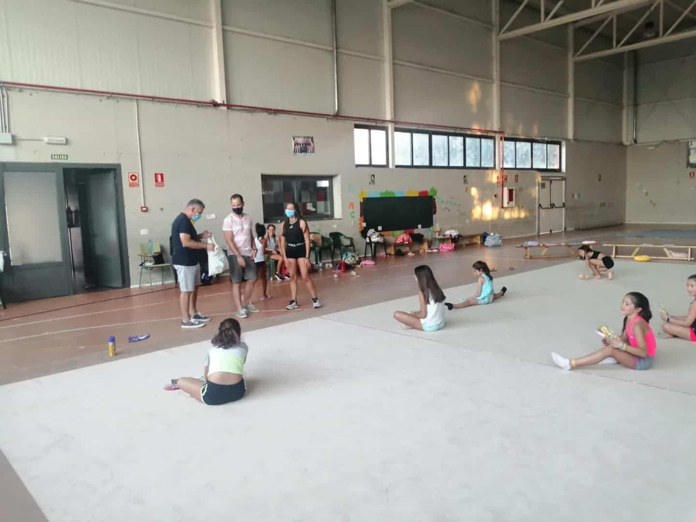 segunda semana iv clinic gimnasia ritmica herencia 1 - Finaliza la segunda semana del IV Clinic de Gimnasia Rítmica en Herencia