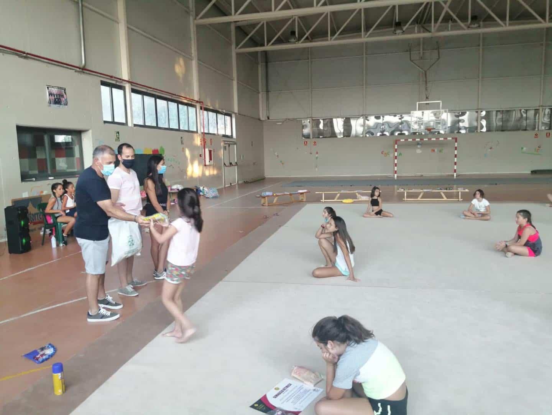 segunda semana iv clinic gimnasia ritmica herencia 2 - Finaliza la segunda semana del IV Clinic de Gimnasia Rítmica en Herencia