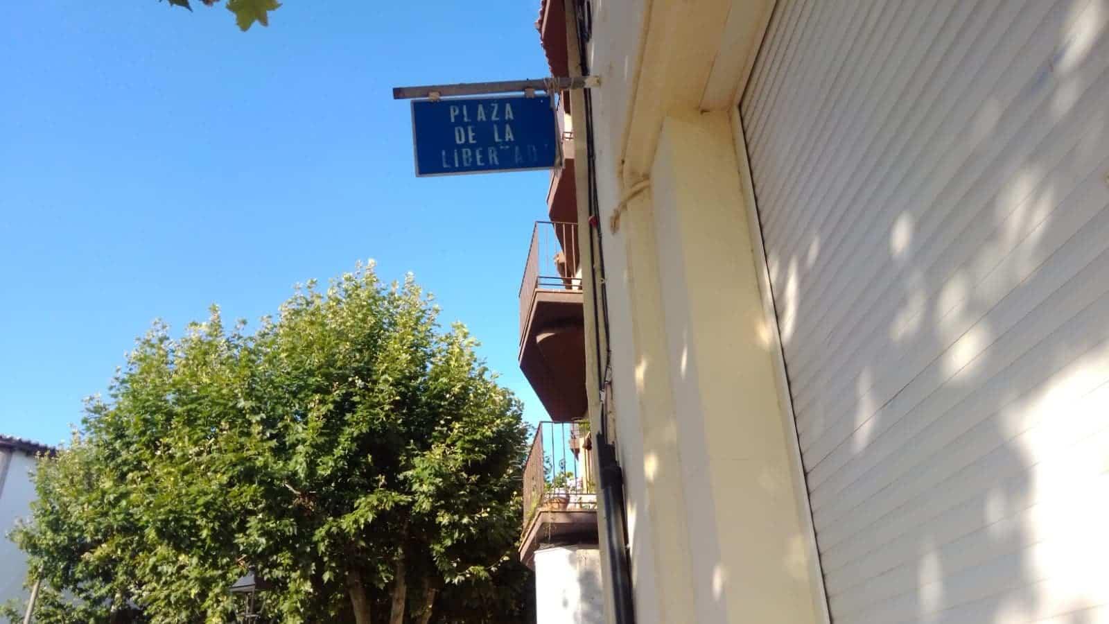 senalizacion calles herencia mantenimiento - Tareas de mantenimiento en zonas verdes como La Pedriza
