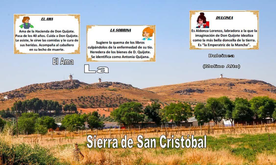 sierra san cristobal herencia molinos - Los Molinos de Herencia