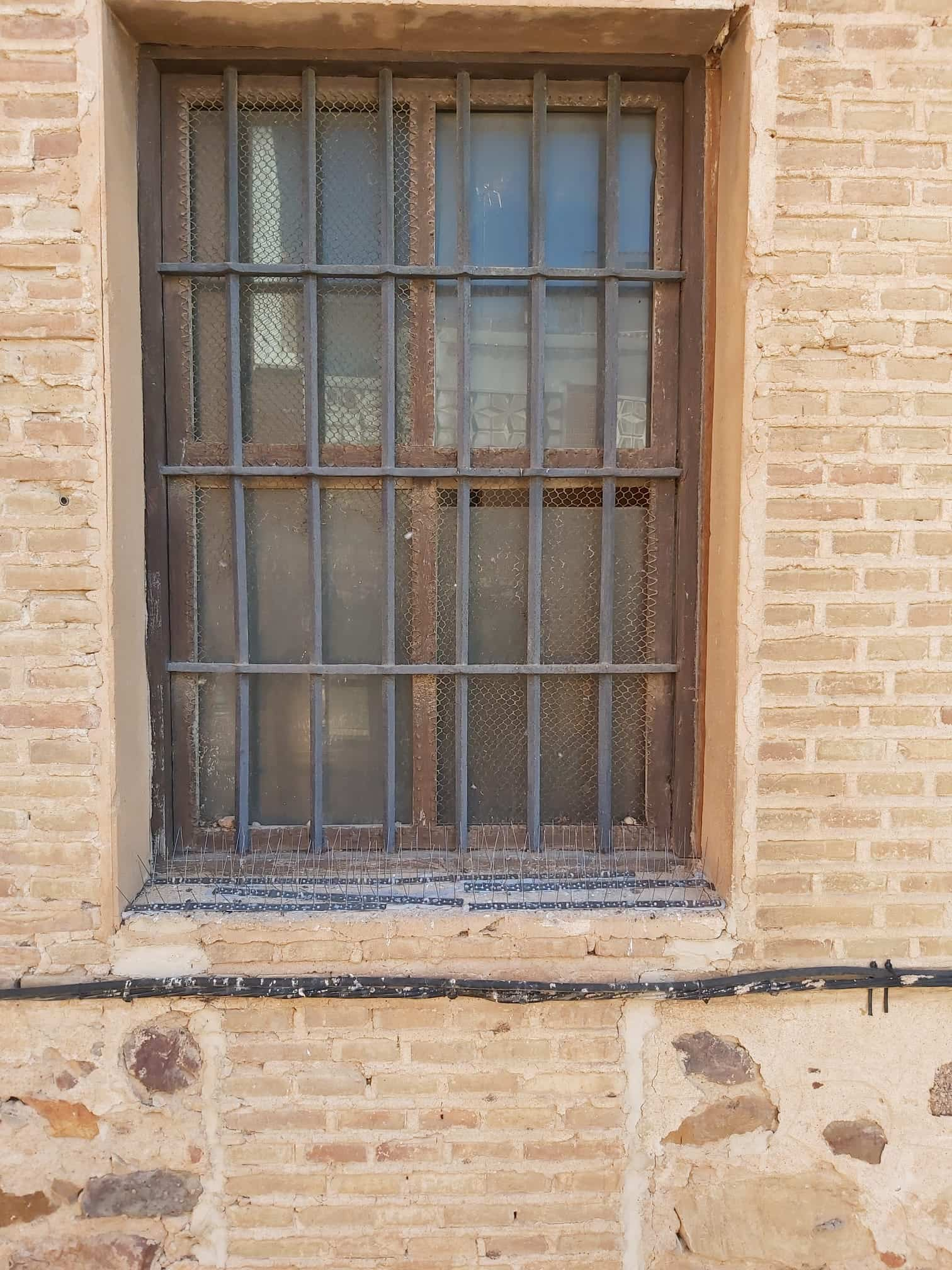 Protegiendo el patrimonio con un sistema antipalomas en la Parroquia de Herencia 5