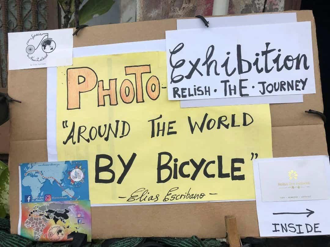 Elías Escribano, Perlé por el Mundo, en la prensa Malaya 18