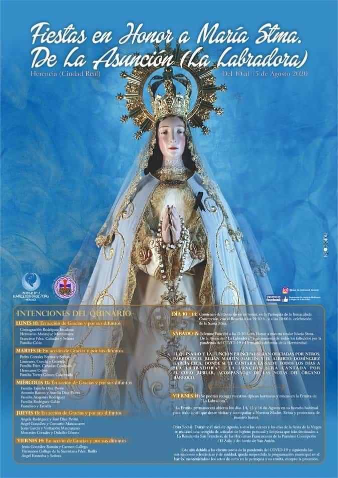 La hermandad de Medinaceli y la Asunción inician una campaña de recogida de productos de higiene y limpieza 3