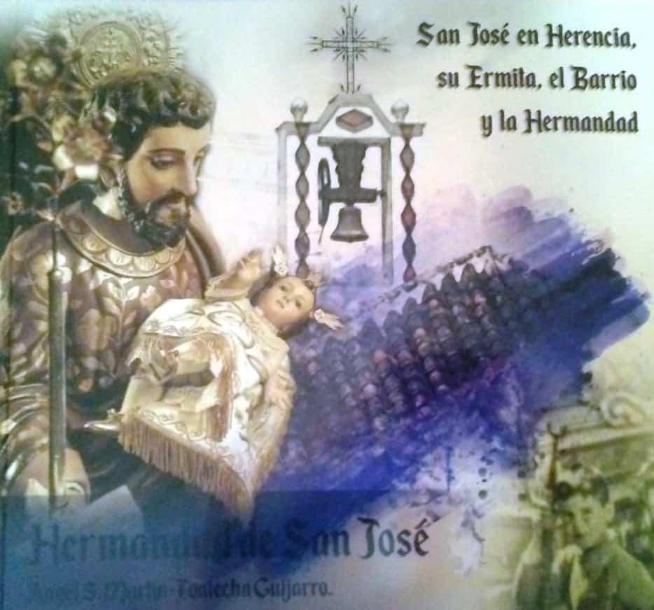 """Libro sobre San Jose en Herencia - Presentación del libro """"San José en Herencia: su ermita, el barrio y la hermandad"""""""