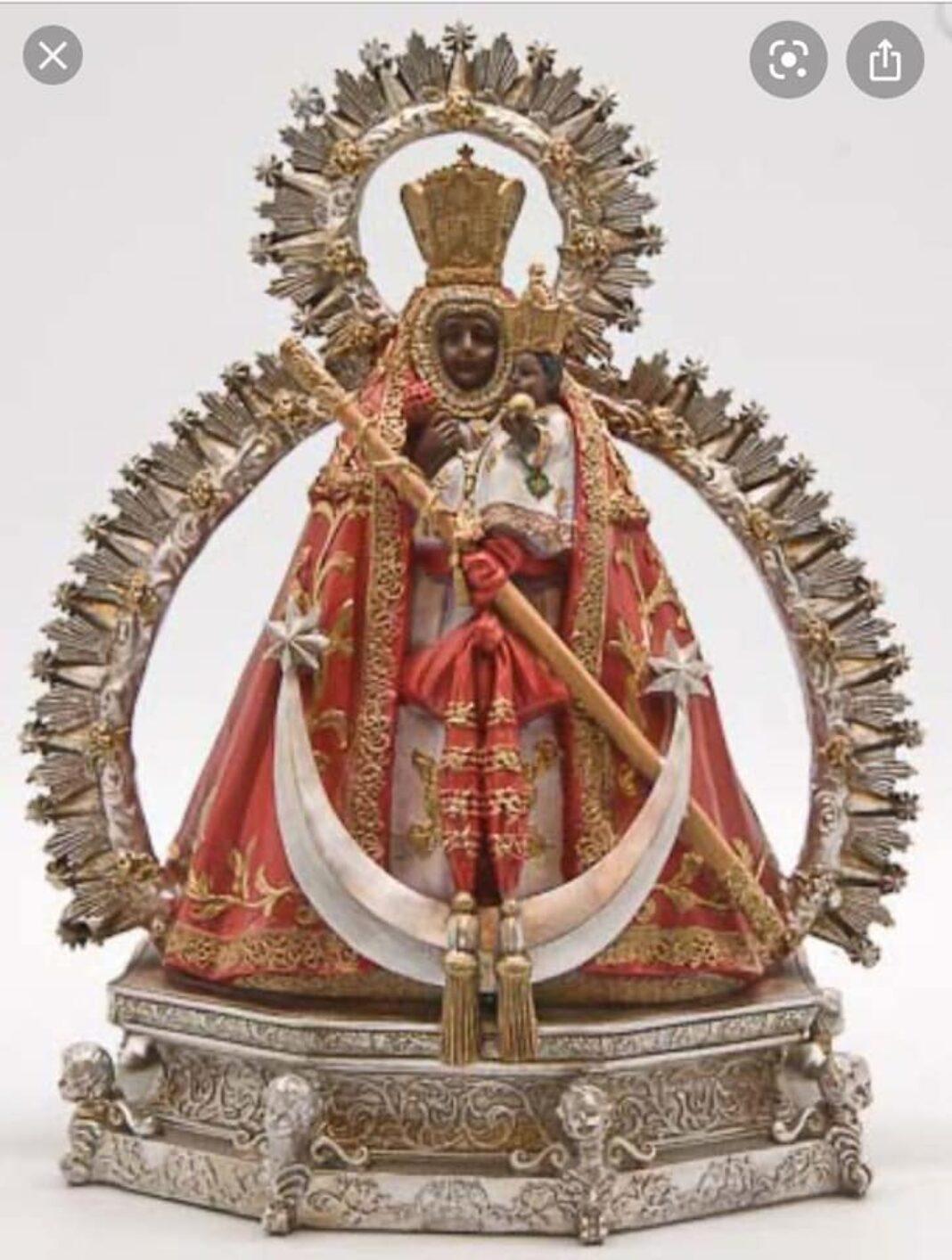 Réplica a escala de la imagen de la Virgen de la Cabeza de Herencia 1068x1414 - Sorteo de una imagen de la Virgen de la Cabeza