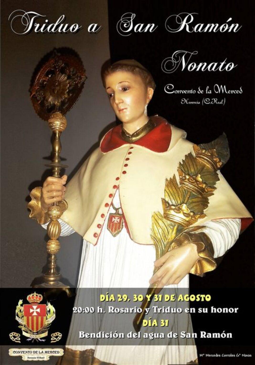 Triduo a San Ramon Nonato en Herencia 1068x1526 - Triduo a San Ramón Nonato en el convento de La Merced