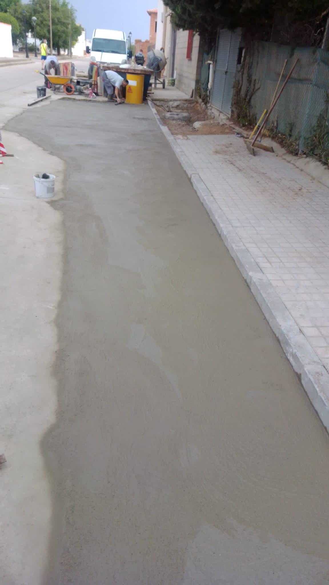 arreglo obras hundimiento herencia calles 4 - Arreglado el hundimiento de vía en el Barrio de San José