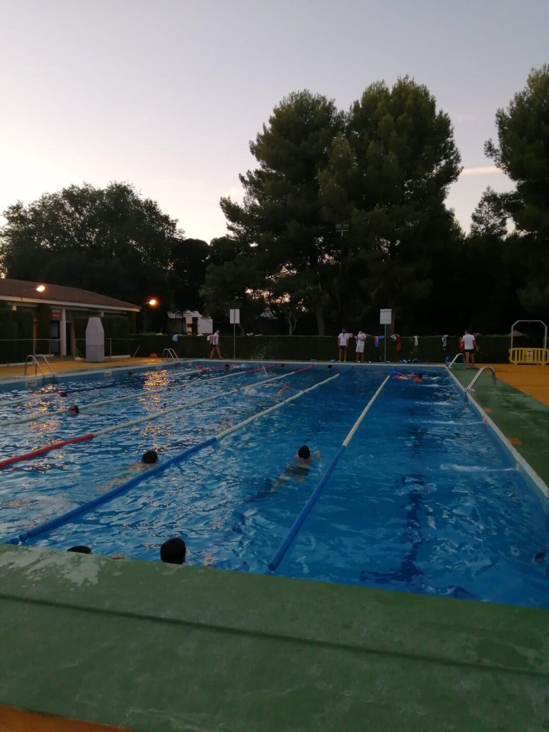 Comienzo de los cursillos de natación de agosto en Herencia 4