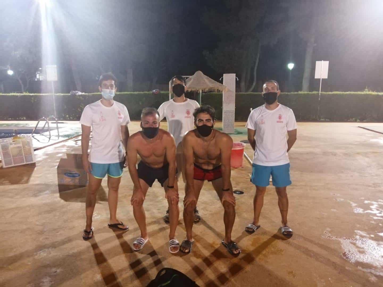 Clausura de los cursillos de natación de julio en Herencia 19
