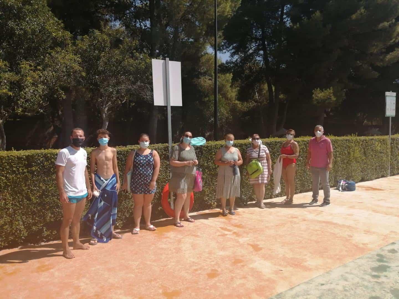 Clausura de los cursillos de natación de julio en Herencia 22