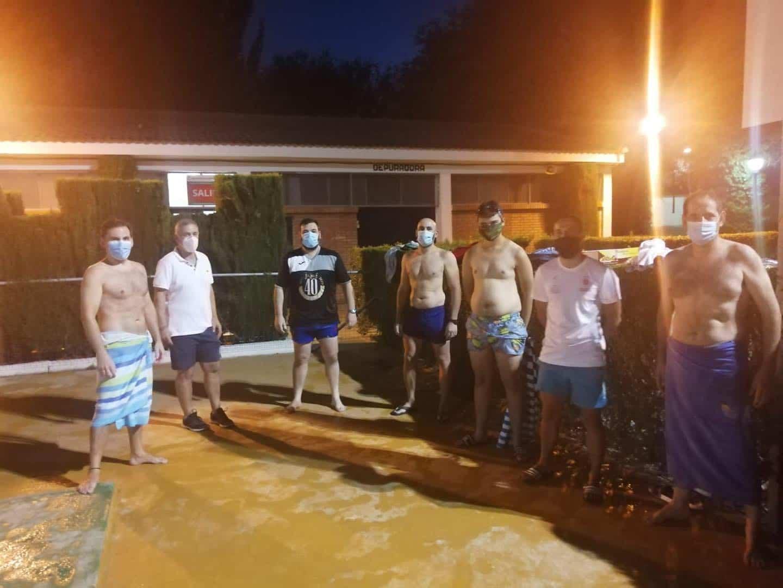 Clausura de los cursillos de natación de julio en Herencia 24