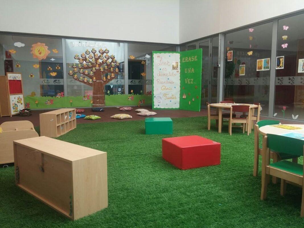 escuela infantil herencia aula 1068x801 - La Escuela Infantil Municipal publica la lista provisional de admitidos para el próximo curso