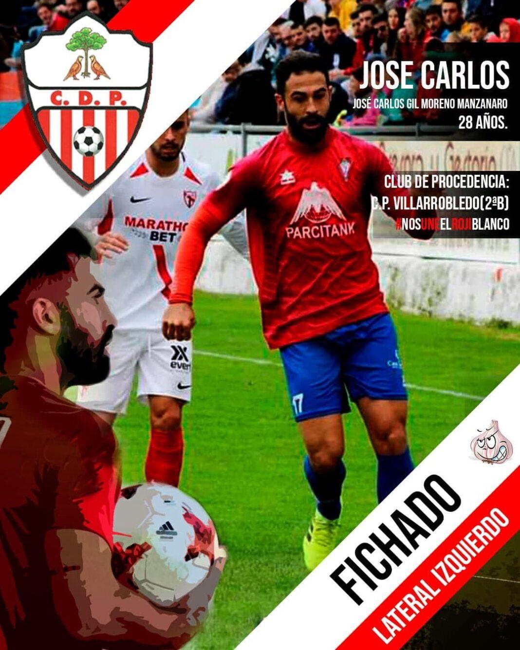 jose carlos gil ficha pedroneras futbol 1068x1335 - El herenciano José Carlos Gil ficha por el C.D: Pedroñeras