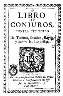 libro de conjuros - Las plagas de langosta