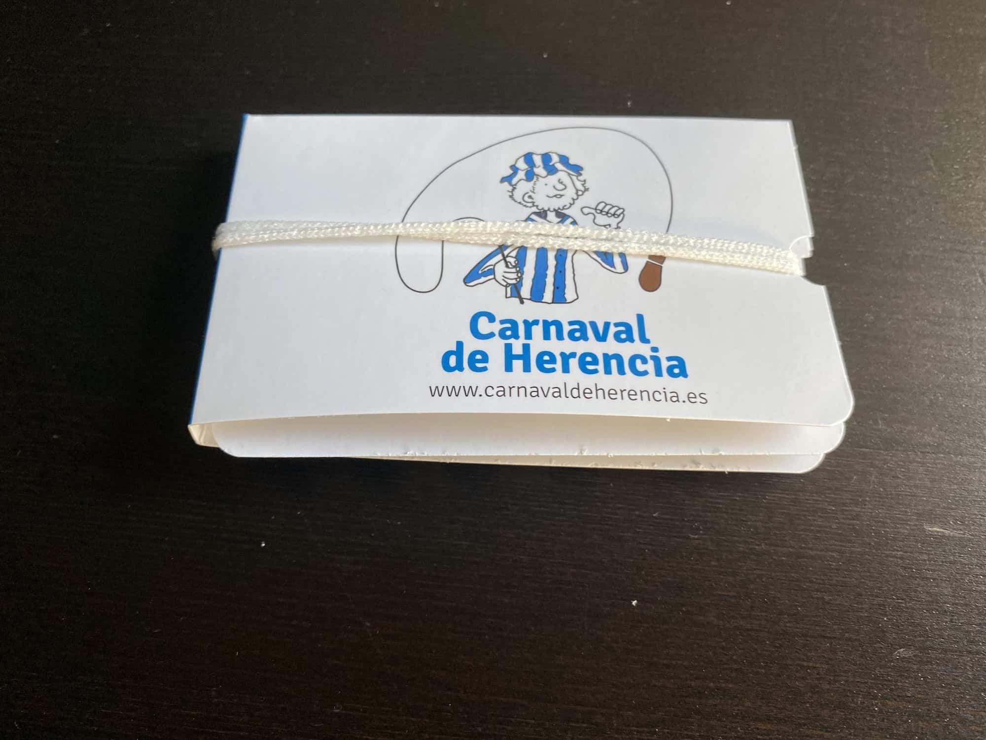 portamascarillas cerrado herencia - Consigue el portamascarillas del Carnaval de Herencia. ¡Ampliamos el stock!