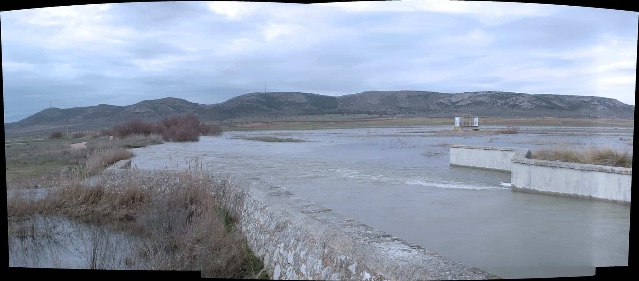 puente alto rio desbordado herencia - Herencia en el concurso para elegir El Pueblo más bonito de Castilla-La Mancha 2020