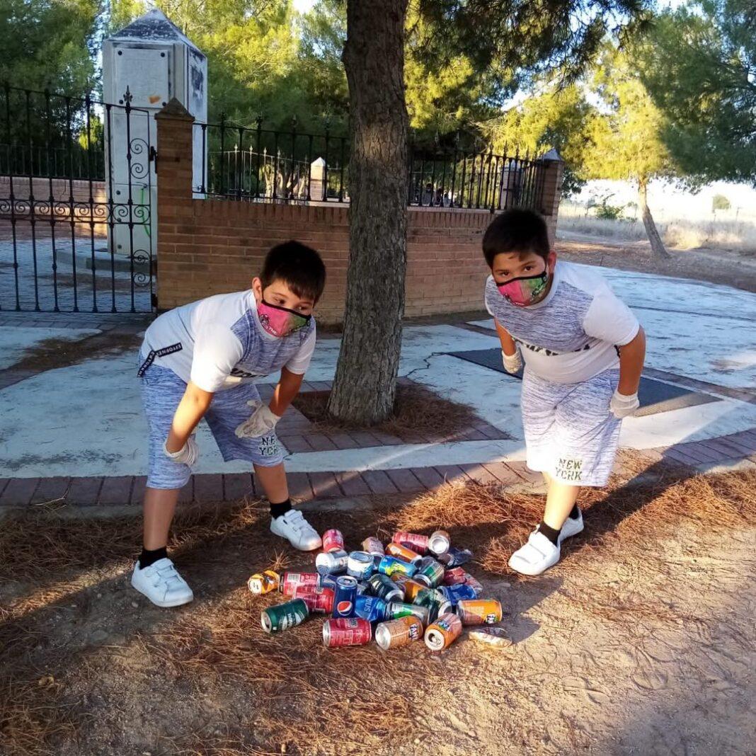 El reto del reciclaje sigue avanzando en el Centro Joven de Herencia 4