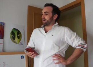 Imagen: el «cuñado» de los geniales vídeos de Santi Gª Cremades (@SantiGarciaCC)