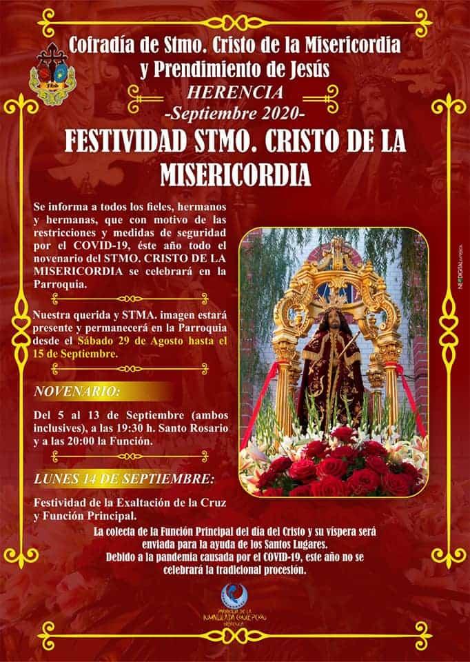 Festividad Cristo de la Misericordia - Festividad del Santísimo Cristo de la Misericordia