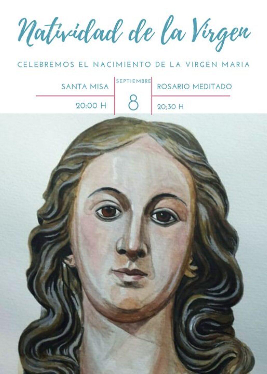 Festividad del Nacimiento de la Virgen 1068x1496 - La Hermandad de la Inmaculada celebra la festividad de la Natividad de la Virgen