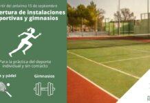 Reapertura de las pistas de tenis padel y gimnasios de Herencia 218x150 - Coordinación de ayuda frente al Coronavirus desde Herencia