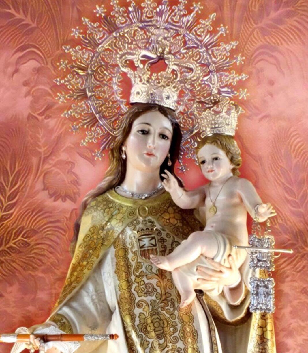Virgen de las Mercedes de Herencia 1068x1221 - Herencia y su 24 de septiembre en la crisis de una pandemia