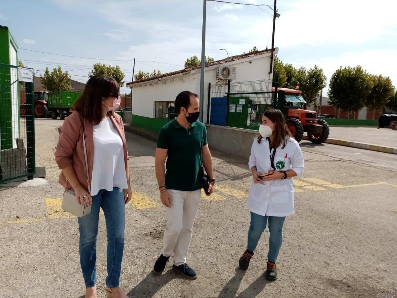 """Visita a la Cooperativa """"Cristo de Santa Ana"""" en Villafranca 6"""