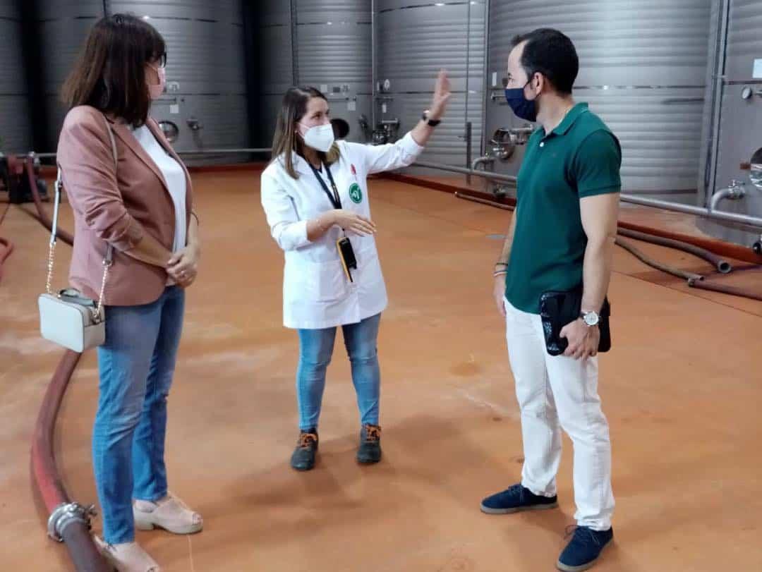 """Visita a la Cooperativa """"Cristo de Santa Ana"""" en Villafranca 5"""